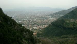 Panorama dalla vetta della guglia