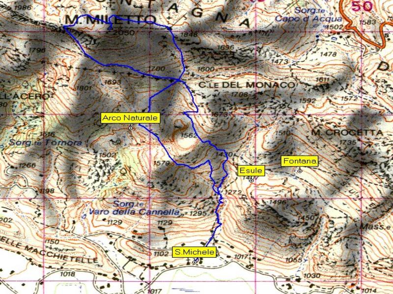 00_Traccia GPS Escursione sul Miletto