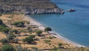 La spiaggia deserta di Lethra