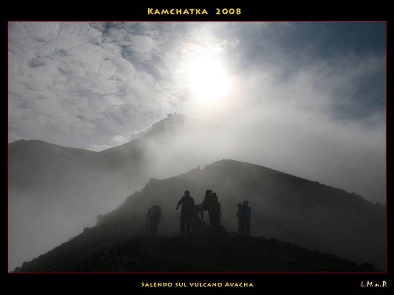 17_Salendo sul vulcano Avacha